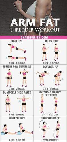 This is the MOST AMAZING arm fat shredder workout I've ever tried. Glad to have found such an effective workout to lose extra pounds on my arms. Fitness Workouts, Fitness Herausforderungen, Arm Workouts At Home, Fitness Workout For Women, At Home Workout Plan, Easy Workouts, Physical Fitness, Monthly Workouts, Fitness Journal