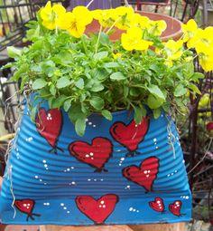 great idea!  Outdoor craft