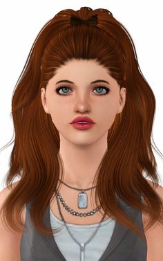 Alesso`s Candle hairstyle retextured by Forever and Always for Sims 3 - Sims Hairs - http://simshairs.com/alessos-candle-hairstyle-retextured-by-forever-and-always/