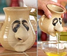 Snot-a-Mug Egg Separator | with Pin-It-Button on http://www.dudeiwantthat.com/household/kitchen/snot-a-mug-egg-separator.asp