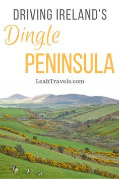 Driving Ireland's Dingle Peninsula -