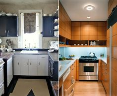 cool small kitchens