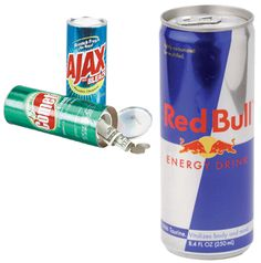 Red Bull Novelty Safe Can