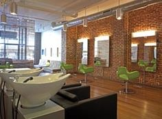 Small Space Hair Salon Ideas   More Hair Salons Are Going Green