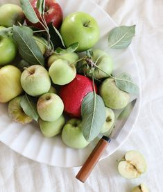Simple Pleasures Cooking: Chai Pancakes with Apple Compote | Anthropologie Blog