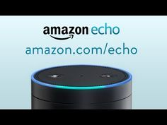Amazon Echo - Amazon Echo is always ready, connected, and fast. Just ask for information, music, news, weather, and more. Echo is controlled by your voice for hands-free convenience and is connected to the cloud so it's always getting smarter. Request an invite at http://amazon.com/echo