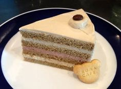 珈琲とラズベリーのクリームケーキ