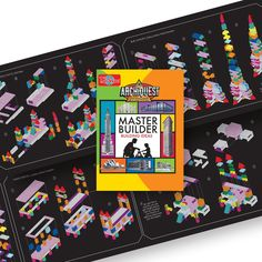 Amazon #1 Best Seller in Toy Stacking Block Sets  The T.S. Shure ArchiQuest Master Builder Wooden Building Blocks Set (136-Piece)is a high quality set of precision cut blocks ideal for young builders, designers and junior architects.  There are 15 different shapes in this 136 piece set in 11 bright colors.  Kids 3 and up can build anything that their imagination lets them or follow the diagrams, illustrations and ideas in the Building Ideas  booklet.