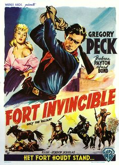 """Fort invincible (1951) - """"Only the Valiant"""""""