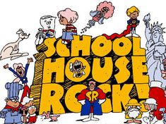 Saturday morning TV in the late 70s and early 80s was the best! Without Schoolhouse Rock, who would be able to recite the preamble to the constitution? HA! http://www.liketotally80s.com/2015/06/schoolhouse-rock-rocks/