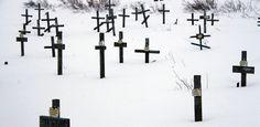 Vorkuta gulag cementary