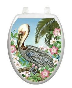 Pelican Toilet Tattoo - Oblong