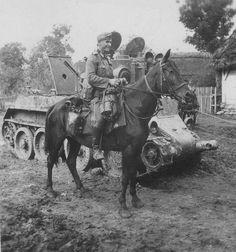 Russian BT-2 tank 1941.