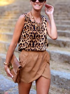 leopard and neutrals