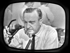 Walter Cronkite reporting on JFK assasination Nov.22, 1963
