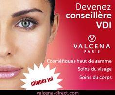 """Devenez conseillère cosmétique en vdi mandataire http://www.valcena-direct.com/inscription Un travail à domicile sérieux.  Comme """"Conseillère Beauté"""" - statut VDI(*) Vous évoluez au sein d'une activité pleine de passion, de séduction et d'enrichissement. Vous organisez des présentations privées pour proposer des produits séduisants et faciles à vendre. Vous bénéficiez de l'encadrement d'une équipe de professionnels.. Vous n'avez aucun investissement à faire pour développer votre propre…"""