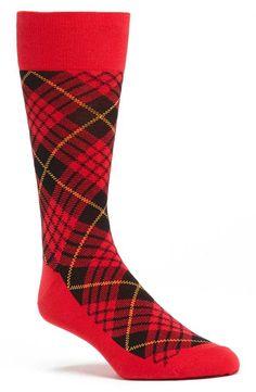 flannel socks for the groom.
