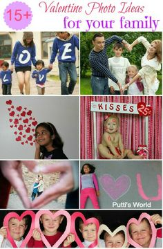 15+ Valentine Photo Ideas for Kids and Family