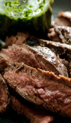 Garlic Brown Sugar Flank Steak