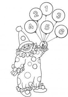 32 best Circus coloring book images on Pinterest | Livres à colorier ...