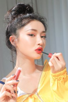 All about Korean Beauty Skincare and Makeup Products - Cosmetic Love 3ce Makeup, Glam Makeup, Beauty Makeup, Hair Makeup, Korean Makeup Look, Asian Makeup, Korean Beauty, Stylenanda Makeup, Natural Glowy Makeup