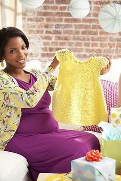 Ravelry: Sunshine Baby Dress pattern by Linda Permann