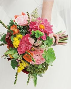 The Bridal Bouquet...local flowers