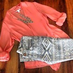 aztec jeans