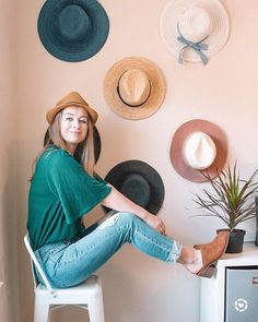 Happy Hump Day! Today on the blog I uploaded a whole post about how I organize my hats and I shared some of my favorite ones that are all under $50! The only problem now is that I may need to expand my hat wall. Anyone else obsessed