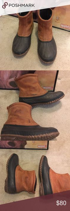 Men's Sorel Boots Size 10 they have been worn. Still have a lot of use!! Smoke free home Sorel Shoes Boots