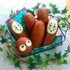 Kaonashi bread