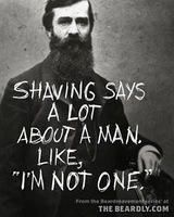 or I guess you could be in the military without a shaving waiver. But man, I love beards. I Love Beards, Great Beards, Beard Love, Man Beard, Badass Beard, Beard King, Epic Beard, Long Beards, Boy Magia