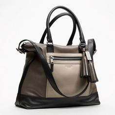 Coach :: Legacy Colorblock Leather Rory Satchel