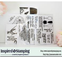 """Click on the pin by Inspired By Stamping. Like it for a chance to win! If you """"Share it"""" & your name will be entered in twice in the contest.    When you enter, PLEASE tell them that I, Tracy Moloney sent you :) Winner announced Monday, August 3rd 2015"""