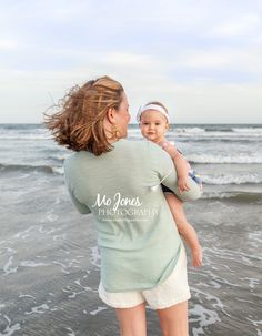 Charleston Beach Family Photography | Isle of Palms, South Carolina Mother & Baby Photography #beachphotography #beachfamilysession #whattowear #photographysessionideas #familybeachphotography #isleofpalms #charleston #southcarolina #babies #beach