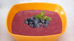 smoothie z borůvek a chia semínek Healthy Cooking, Pudding, Baking, Desserts, Food, Tailgate Desserts, Deserts, Custard Pudding, Bakken