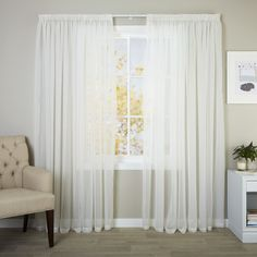 Sheer Curtains | Readymade Sheers - CurtainStudio Curtains With Blinds, Sheer Curtains, New Zealand Destinations, Drapery Designs, Bedroom Ideas, Home Decor, Decoration Home, Room Decor, Home Interior Design