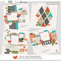 Love and Friendship Templates