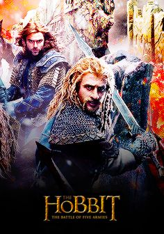 The Hobbit: The Battle of Five Armies  *SPOILERS* my heart breaks knowing that everyone in this poster dies