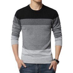 Gender: MenTechnics: Computer KnittedHooded: NoWool: Standard WoolCollar: O-NeckSleeve Length: FullDecoration: SplicedSleeve Style: RegularPattern Type: Patchwo