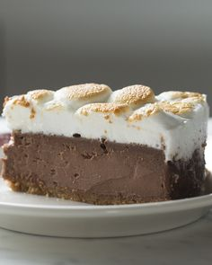 S'mores brownie batter cheesecake