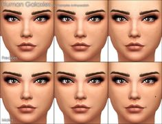 Mod The Sims: Human Galaxies freckles & moles by Vampire_aninyosaloh • Sims 4 Downloads