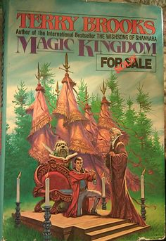 "Terry Brooks, ""Magic Kingdom For Sale - SOLD!"""