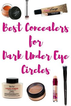 Best Concealers for Dark Under Eye Circles - Working Mom Magic I have had dark circles for as long as I can remember. After lots of trial and error, I have found the best concealers to cover dark circles. Dark Circles Makeup, Dark Circles Treatment, Covering Dark Circles, Dark Eye Makeup, Eye Cream For Dark Circles, Concealer For Dark Circles, Cover Up Dark Circles Under Eyes, Maybelline, Beste Concealer