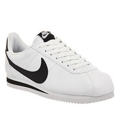 Nike Classic Cortez Og New White Black Leather - Unisex Sports