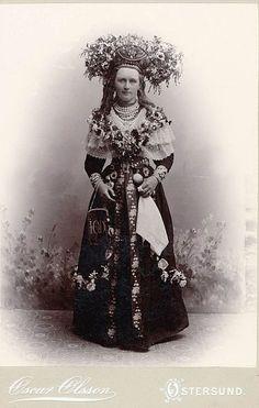 Bride from Jämtland, Central Sweden