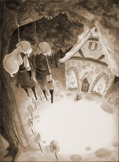 Hansel and Gretel by fishnbacon