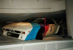 BMW M1 race car, @ the old BMW museum in Munich (2002)