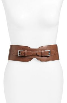 Lauren Ralph Lauren  Double Equestrian  Stretch Leather Belt available at   Nordstrom Ceinture, 46e4b5e3b8a