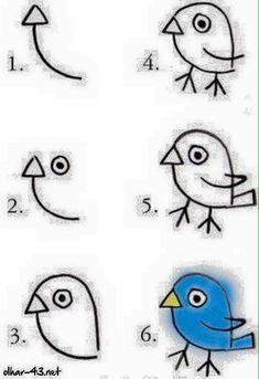 easy drawings beginners steps drawing step simple lessons